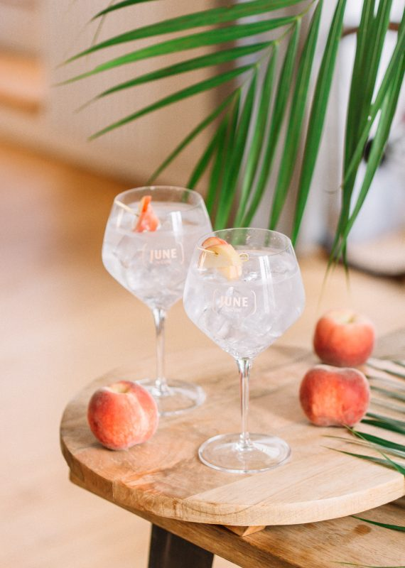 JUNE TONIC - JUNE WILD PEACH JUNE GIN LIQUEUR