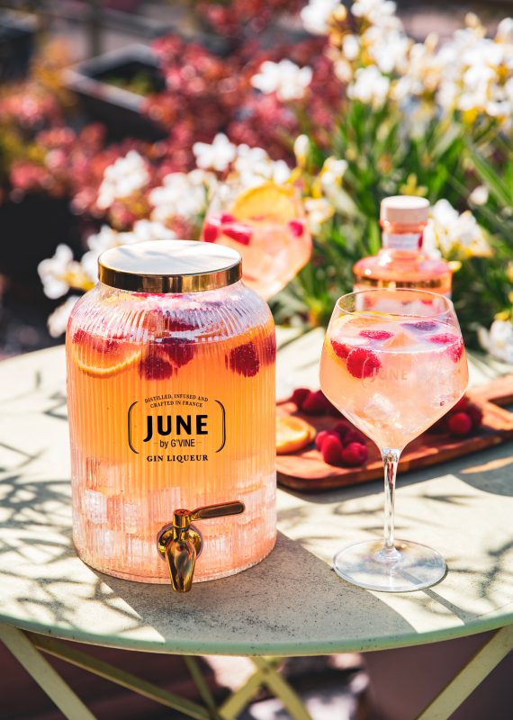 JARRE JUNE IN JULY - JUNE WILD PEACH JUNE GIN LIQUEUR