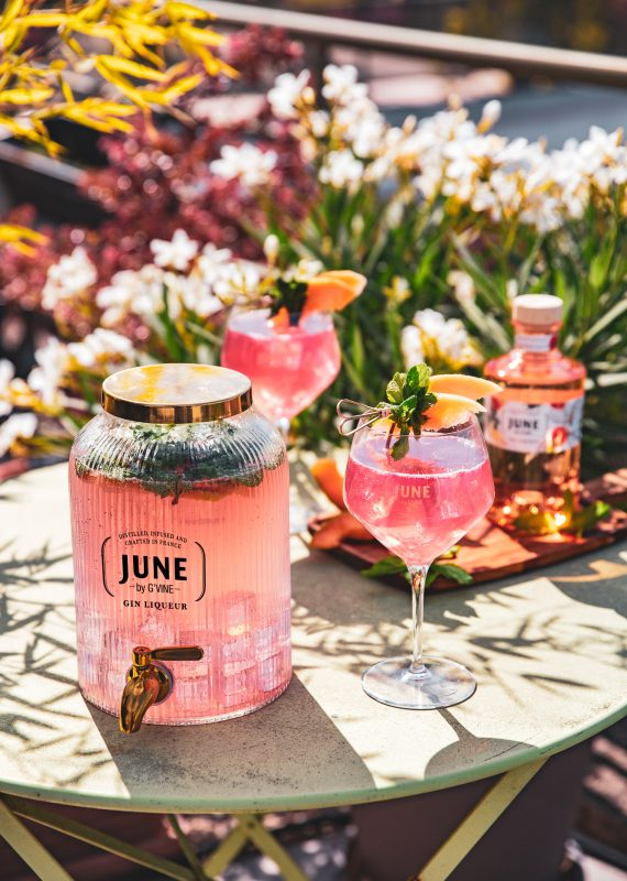 SPICE MY JUNE JARRE - JUNE WILD PEACH JUNE GIN LIQUEUR