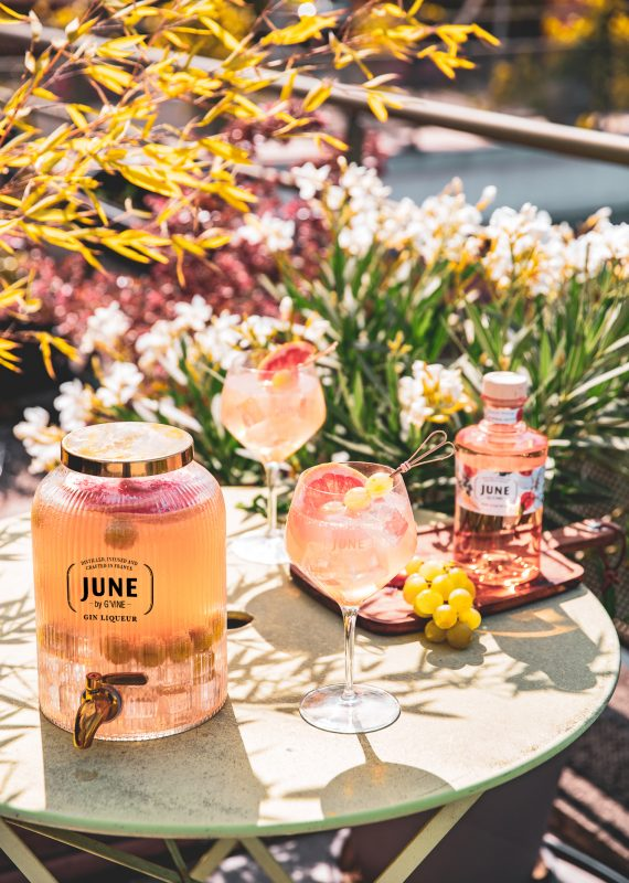 SUMMER JUNE JARRE - JUNE WILD PEACH JUNE GIN LIQUEUR