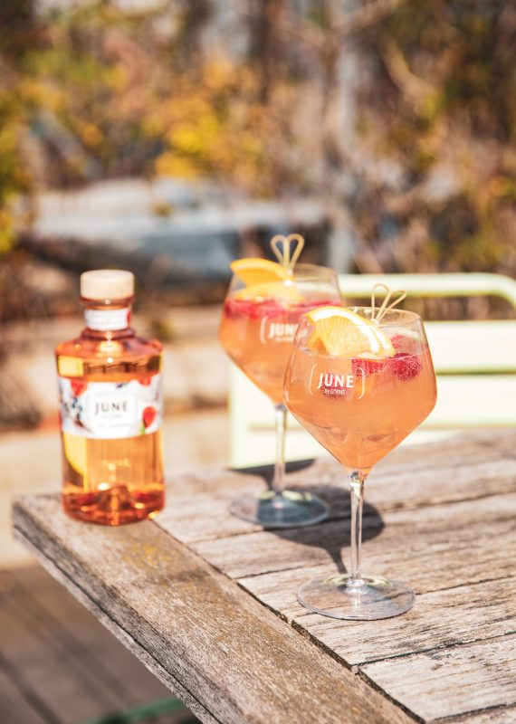 JUNE IN JULY JUNE WILD PEACH JUNE GIN LIQUEUR