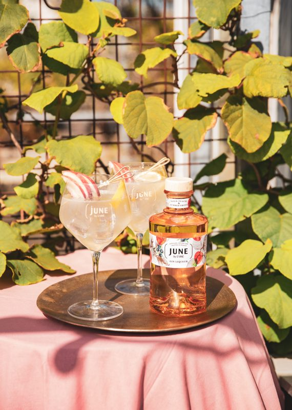 JUNE ROYAL - JUNE WILD PEACH JUNE GIN LIQUEUR
