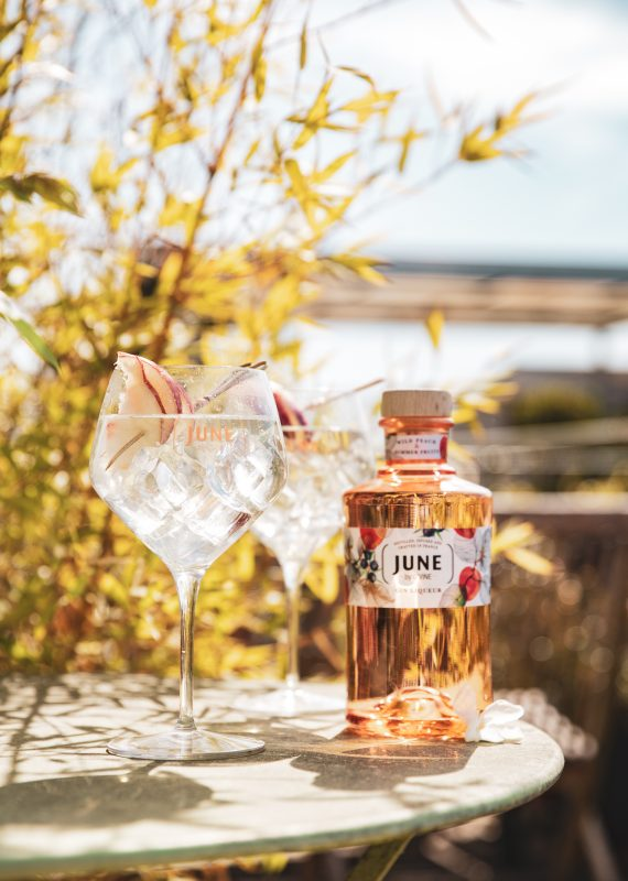 JUNE SPRITZ JUNE WILD PEACH JUNE GIN LIQUEUR